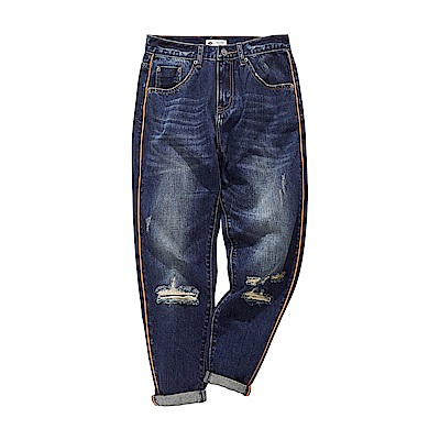 CACO-出芽款牛仔褲-情侶款-女【RNC048】