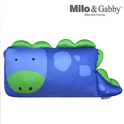 Milo&Gabby 動物好朋友-mini枕頭套(DYLAN恐龍)