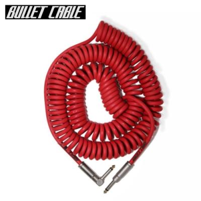 Bullet Cable 30CCR IL 捲捲樂器專用導線線材 5.25公尺 紅色款