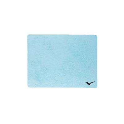 MIZUNO SWIM 日製吸水巾-一只入 浴巾 毛巾 游泳 戲水 美津濃 N2JY801000-19 粉藍