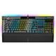 【CORSAIR海盜船】K100 RGB 機械式電競鍵盤/銀軸/英文PBT鍵帽/RGB/CH-912A014-NA product thumbnail 1