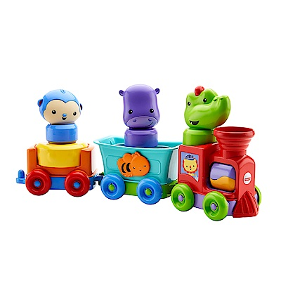 費雪可愛動物遊園火車(6M+)