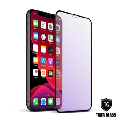 T.G iPhone 11 Pro/X/Xs 超強二合一抗藍光霧面9H滿版鋼化玻璃 鋼化膜
