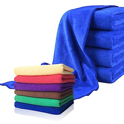 【車的背包】超細纖維美容打蠟布組(1大+1小)顏色隨機