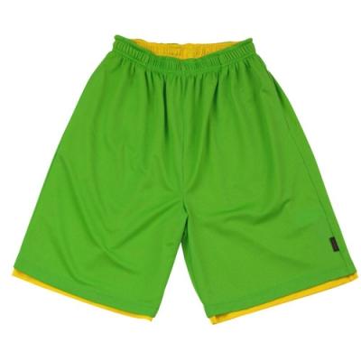 【FIVE UP】男款雙面穿吸排籃球褲-淺綠