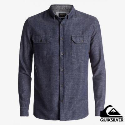 【QUIKSILVER】DOUBLE JUNGLE 襯衫 藍色