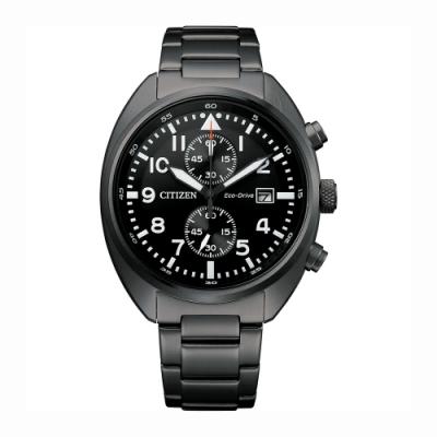 CITIZEN 星辰 光動能計時手錶-41mm(CA7047-86E)