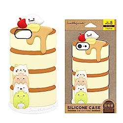 iPhone 8/7/6s/6 拉拉熊/角落生物 造型矽膠 軟殼 4.7吋-千層蛋糕