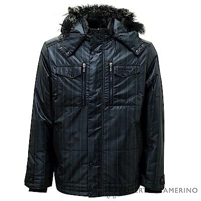 ROBERTA諾貝達 潮流型男 內裡鋪棉 夾克外套  深藍