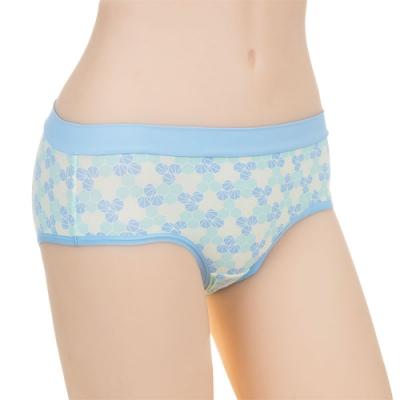 sloggi Groovy炫彩繽紛平口內褲 M-EL 海洋藍 R87-1878B5