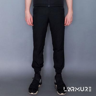 L ARMURE 男裝 Ultra-Light 多口袋 機能工作褲 黑色