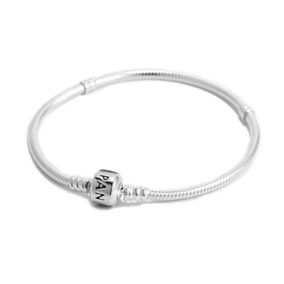 [時時樂限定]Pandora 潘朵拉 經典925純銀手鍊手環(18cm)原價2880