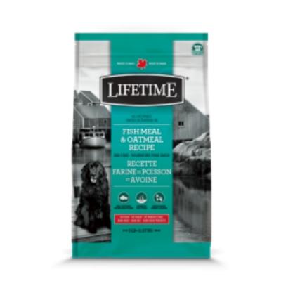 加拿大LIFETIME萊馥特-低敏抗氧化配方 (魚肉+燕麥) 全齡犬 5LB/2.27KG (LTD7745)