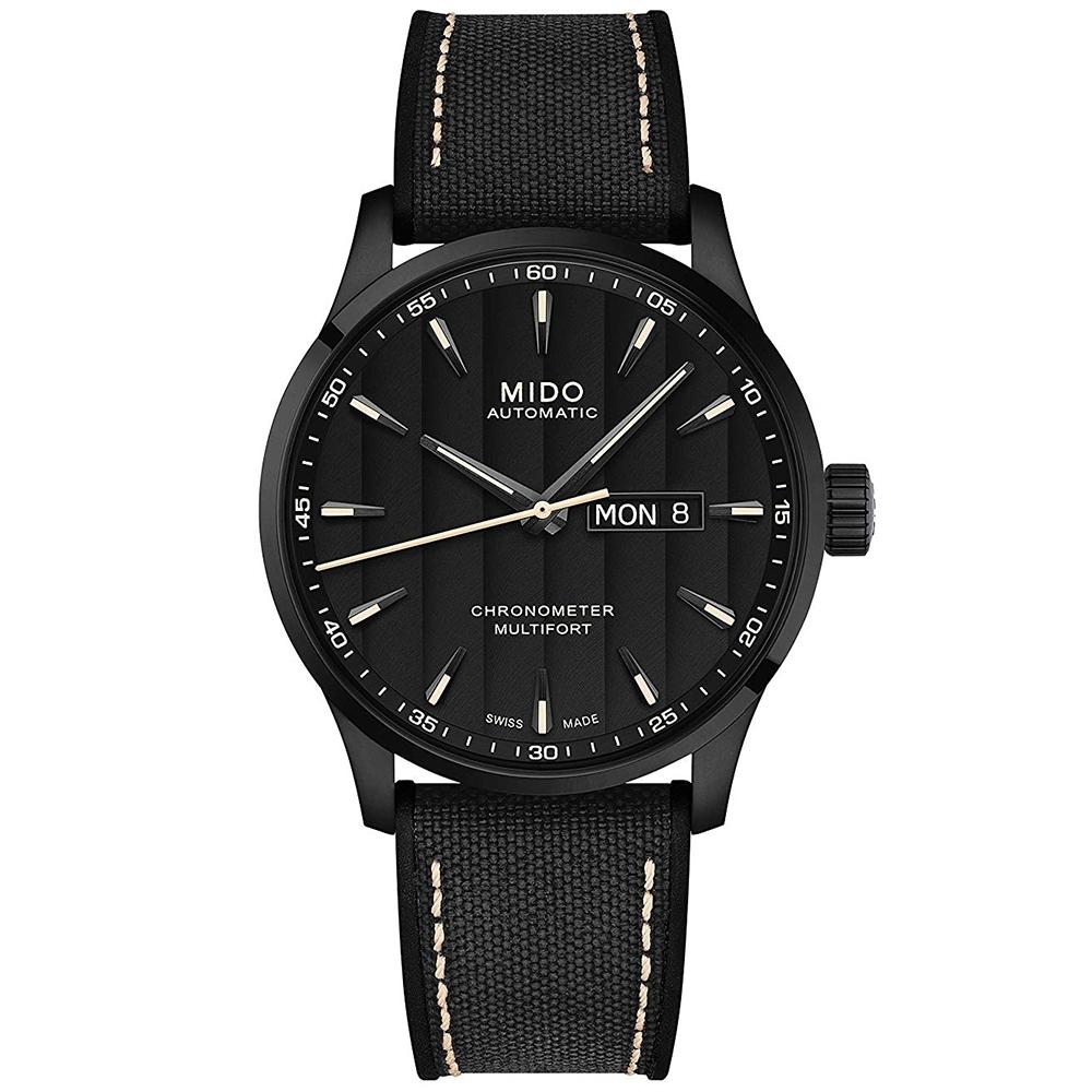 MIDO美度 Multifort先鋒系列 80小時天文台認證機械錶(M0384313705100)