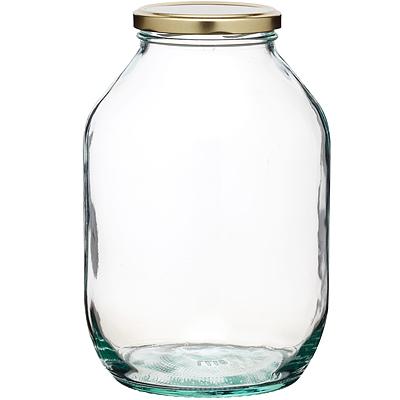 KitchenCraft 旋蓋玻璃密封罐(金2250ml)