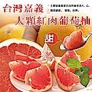 (滿799免運)【天天果園】台灣爆汁紅肉葡萄柚(每顆約350g) x2顆