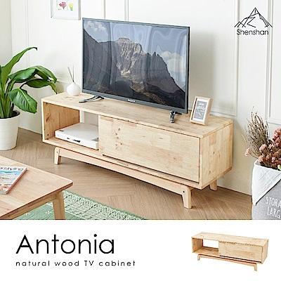 H&D 安東簡約質感原木4.6尺電視櫃
