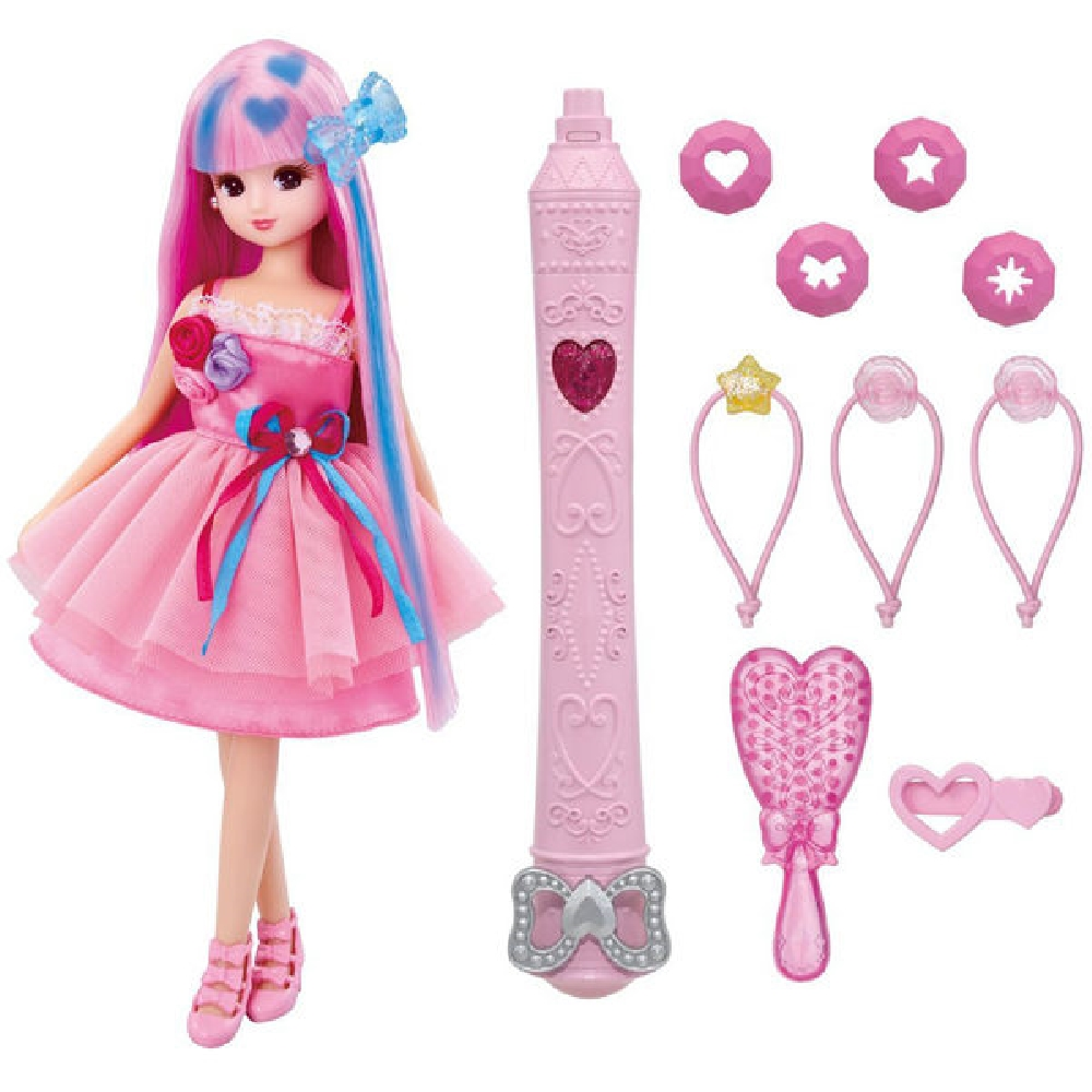 任選Licca 莉卡娃娃 魔法變髮娃娃 LA88529 公司貨