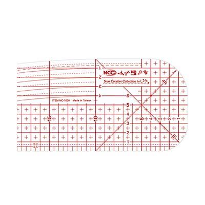 NCC 熨斗用止滑定規尺10x30cm