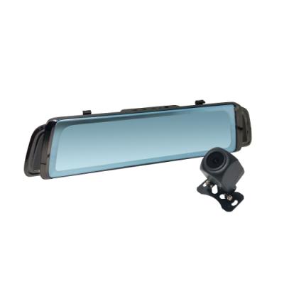 【路易視】FX6電子後視鏡1080P 行車紀錄器(高清 流媒體 全螢幕 觸控 贈32G卡)