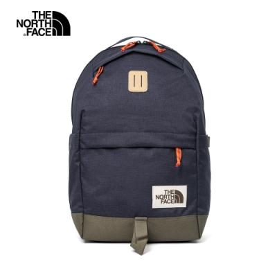 The North Face北面男女款深藍色舒適防護休閒後背包 3KY5TP5