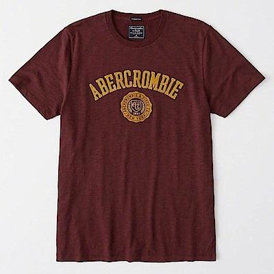 AF a&f Abercrombie & Fitch 短袖 T恤 紅 0971