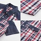 Hang Ten - 男裝 - 流行休閒格紋襯衫 - 紅