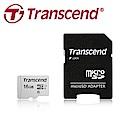 創見 16GB 300S microSDHC UHS-I U1 記憶卡(附轉卡)