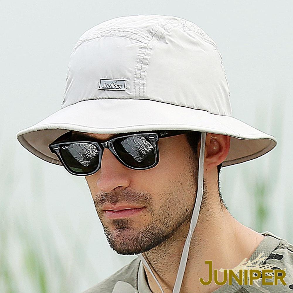 JUNIPER 戶外抗UV防潑水吸濕排汗遮陽帽