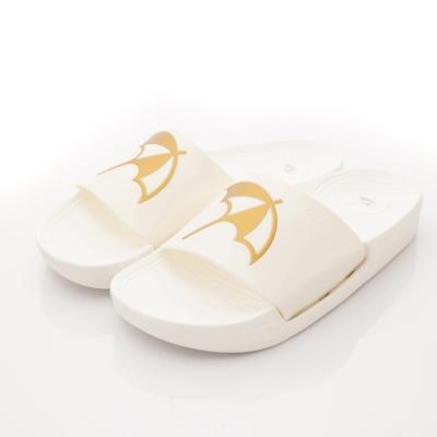 雨傘牌 休閒拖鞋款EI94709白(中小童段)