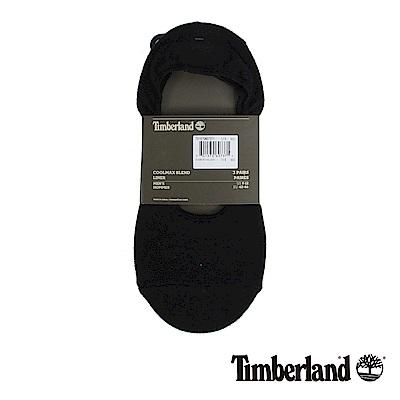 Timberland 男款黑色3入船型襪