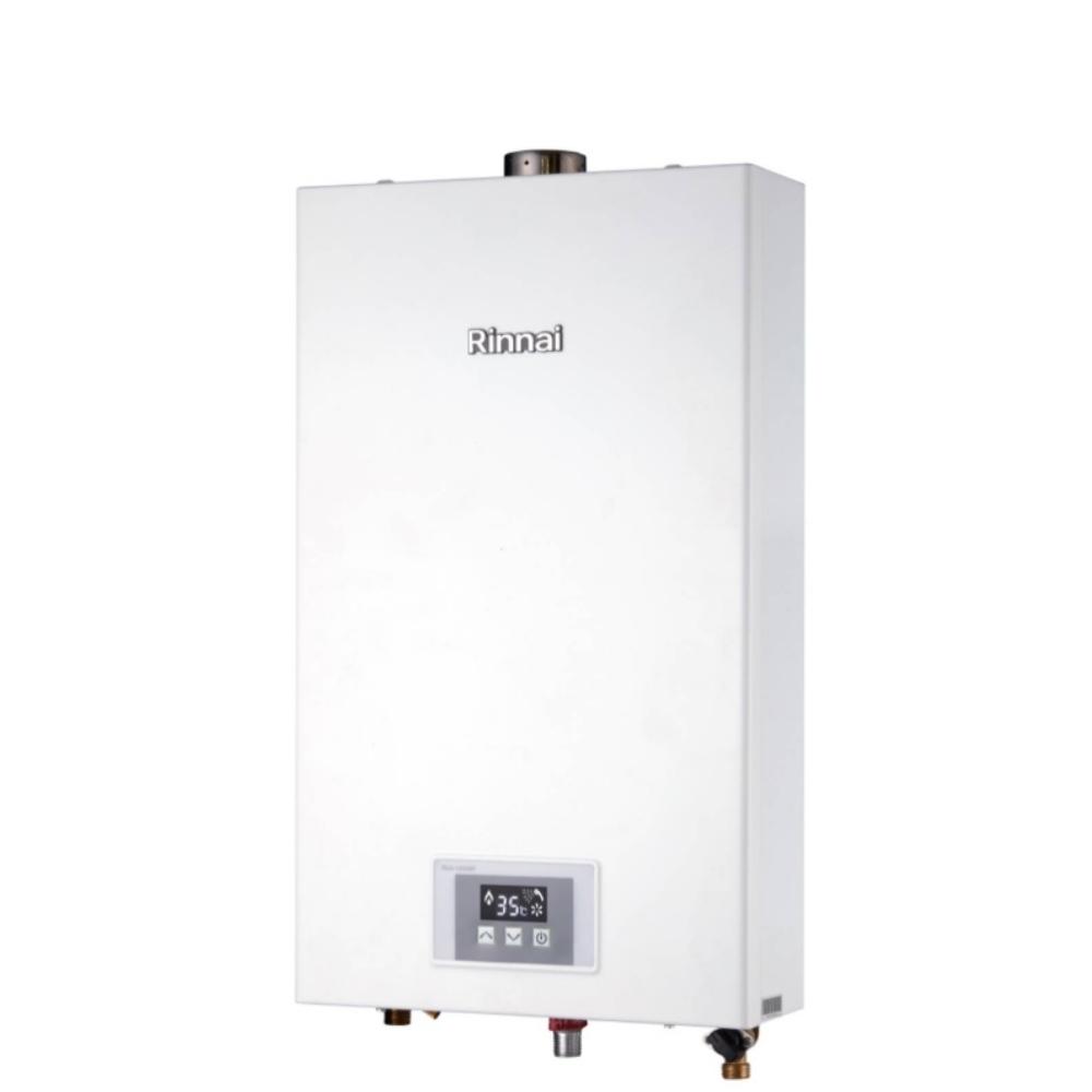 (全省安裝)林內12公升數位強制排氣熱水器天然氣RUA-1200WF_NG1