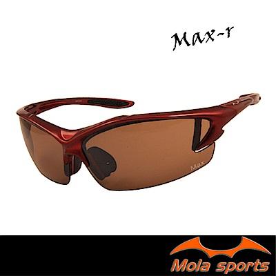 MOLA摩拉運動太陽眼鏡 UV400 男女 超輕量 自行車 跑步 高爾夫 棒球 Max-R