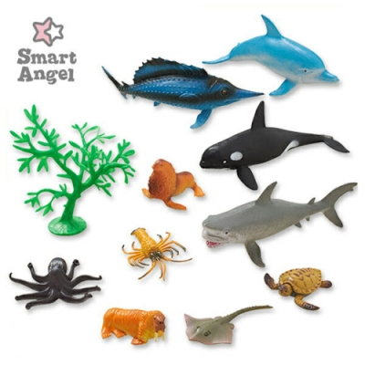西松屋 Smart Angel  海洋王國-造型模型玩具/公仔