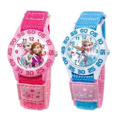 DISNEY迪士尼 休閒織帶手錶 Frozen冰雪奇緣33mm兩款任選