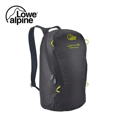 【英國 Lowe Alpine】Stuff It 22 極輕量攻頂/旅行背包 煤炭黑 #FAE08