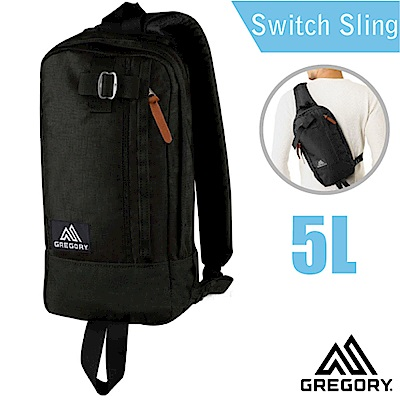 美國 GREGORY Switch Sling 單肩後背包5L_黑