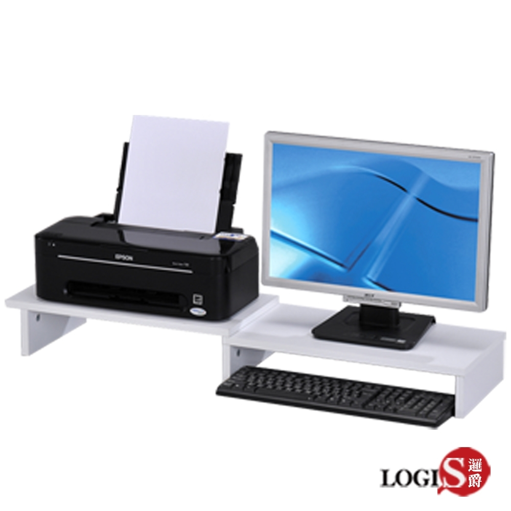 LOGIS邏爵-新電腦螢幕架 桌上置物架