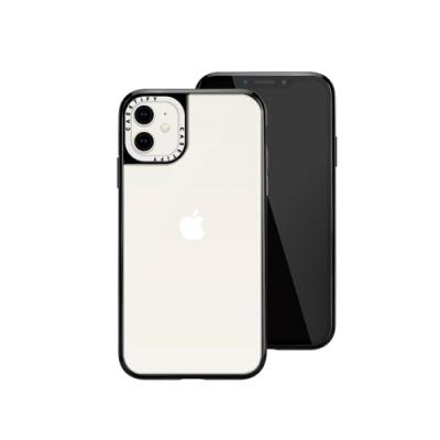 Casetify iPhone 12 mini 輕量耐衝擊保護殼-透黑