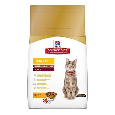 希爾思Hills成貓飼料 泌尿道保健毛球控制3.5磅