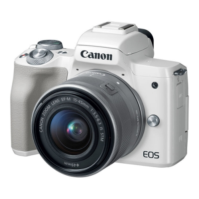 CANON EOS-M50 15-45mm IS STM-白色 (中文平輸)