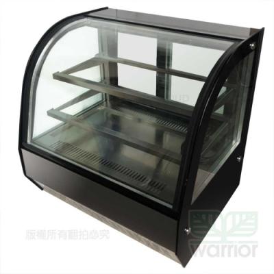 Warrior 2尺4 弧形玻璃蛋糕櫃 (HM700C-P-HG)