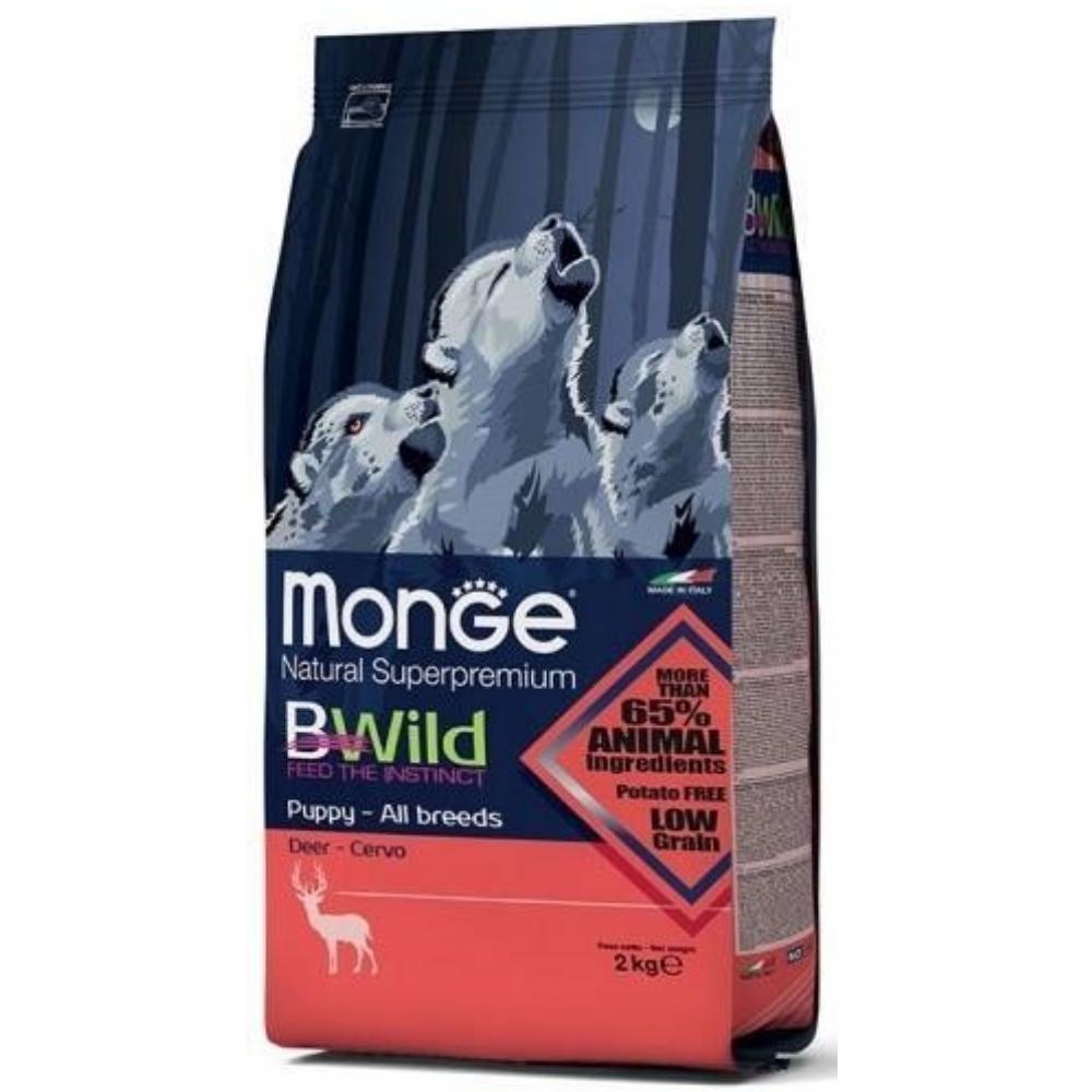 MONGE BWild 狂野本色 幼犬 鹿肉配方 2KG