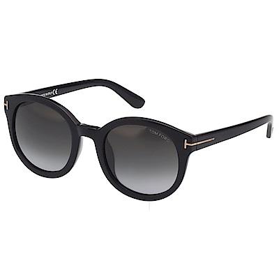 TOM FORD 復古 太陽眼鏡-黑色-TF9310