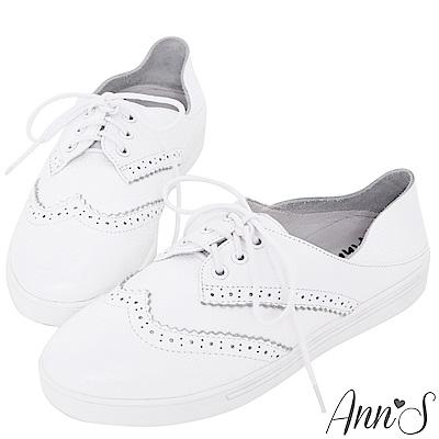 Ann'S第二代兩穿可腳踩牛津小白鞋