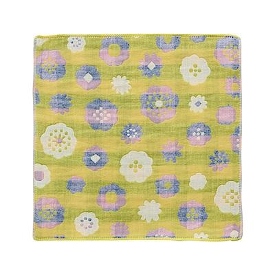 日本Prairiedog 今治三層紗方巾-繽紛盛放