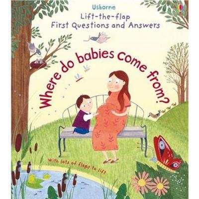Where Do Babies Come From? 我的第一本Q&A:出生的問與答