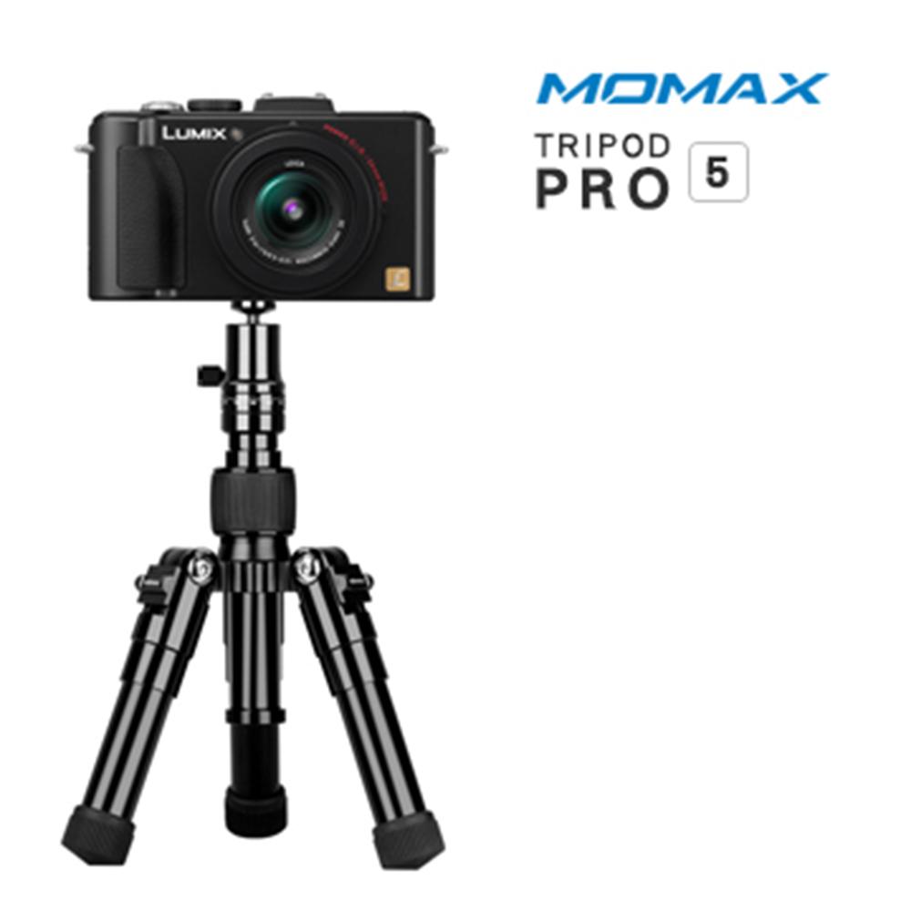 MOMAX Tripod PRO 5 鋁合金自拍棒三腳架42cm(手機/相機用) @ Y!購物