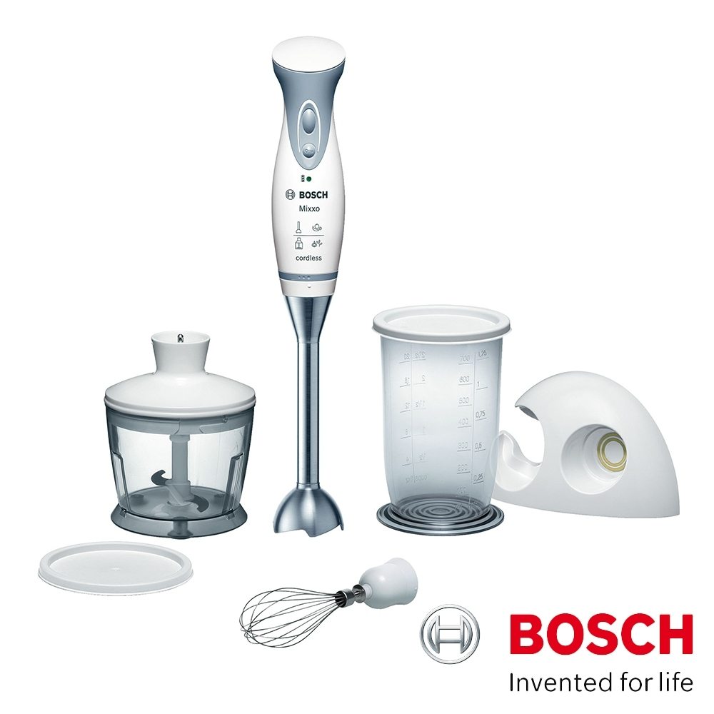Bosch 無線調理攪拌棒 MSM6A60TW 白色