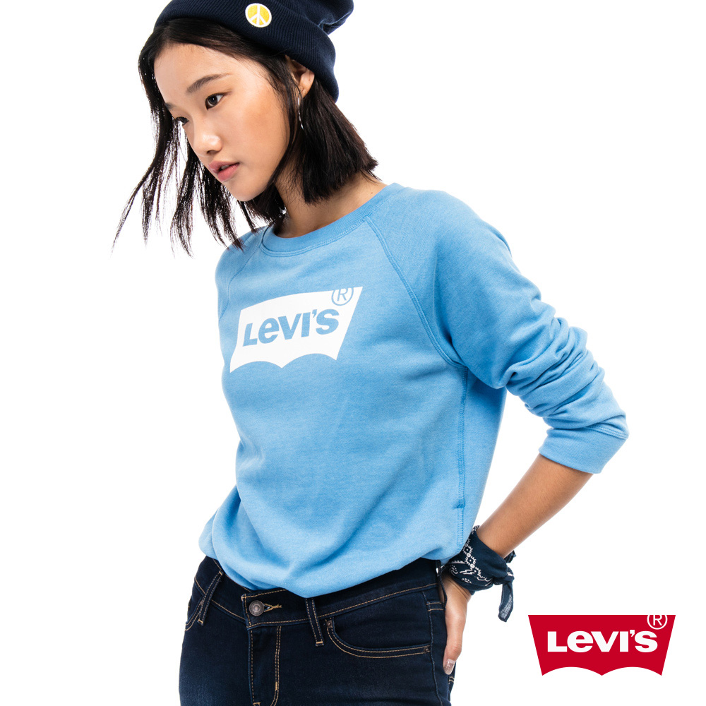 Levis 圓領大學T 女裝 LOGO